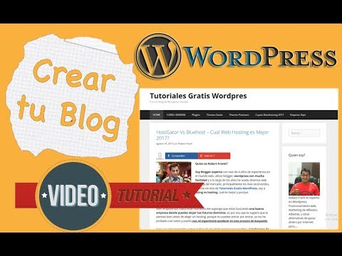 Aprender Wordpress Desde Cero (De Novato a Experto en 40 Min) - YouTube