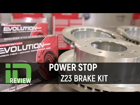 Power Stop Z23 Brake Kit Review