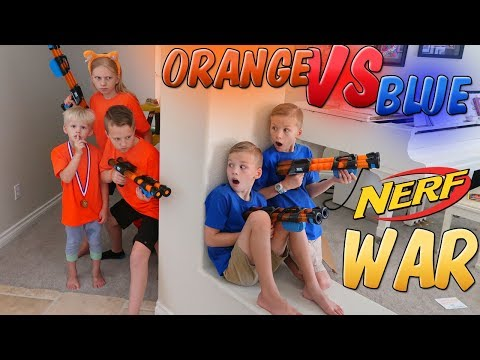 Nerf War: Homework Disturbance Payback Time