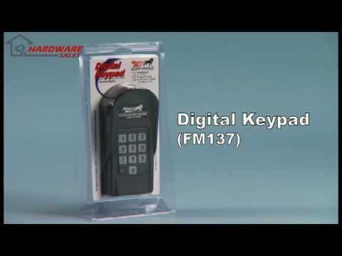 Mighty Mule Fm137 Digital Keypad For Opening Gates New Youtube
