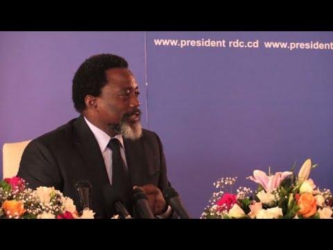 RD Congo : conférence de presse de Joseph Kabila