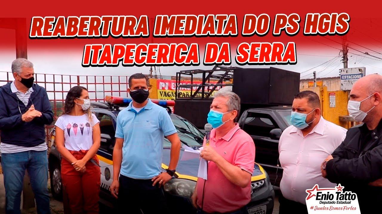ATO PELA REABERTURA IMEDIATA DO PS DO HOSPITAL GERAL DE ITAPECERICA DA SERRA