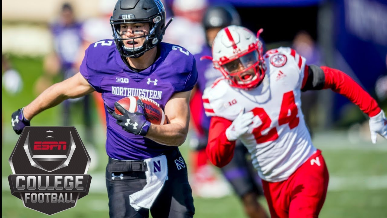 Northwestern Defeats Nebraska In Wild Overtime Comeback Victory College Football Highlights YouTube