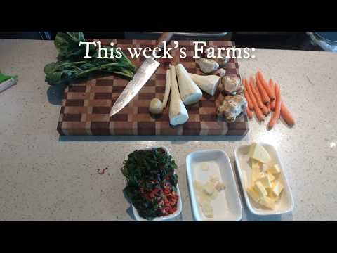 Bangers And Mash with Sunchokes & Parsnips