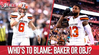 Baker Bashes Browns Over OBJ Injury | NFL | SFY NEXT