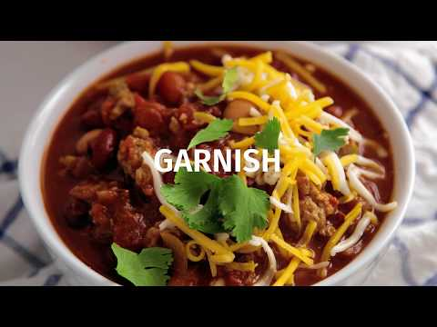 Ground Pork Chili Recipe