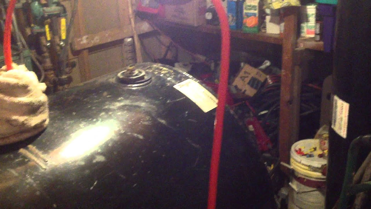 How To Pump Out And Change Your 275 Heating Oil Tank For Cheap   YouTube