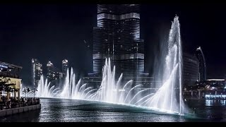 The Dubai Fountain 2015 HD - Dancing Fountain Water Show