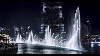 The Dubai Fountain 2015 HD - Dancing Fountain Water Show