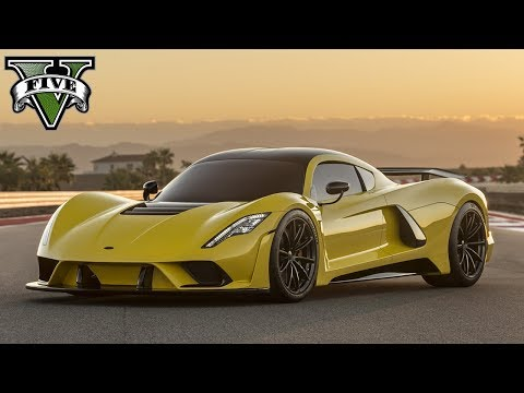 2018 HENNESSEY VENOM F5! (GTA V Taipen // Southern San Andreas Super Sport Series)