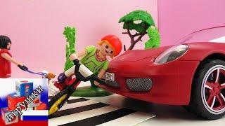 Авария на дороге порше сбивает девочку на велосипеде Playmobil(подпишись на новые видео: http://www.youtube.com/channel/UCJDn33Ycp1GFc2By4ec0Bzg?sub_confirmation=1 Playlist: ..., 2015-10-11T07:00:00.000Z)