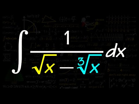 Integral Of 1/(sqrt(x)+cube Root Of X)
