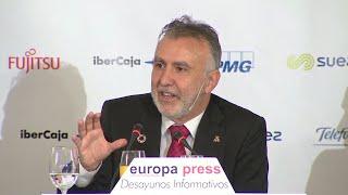 El presidente de Canarias cree que Sánchez formará Gobierno