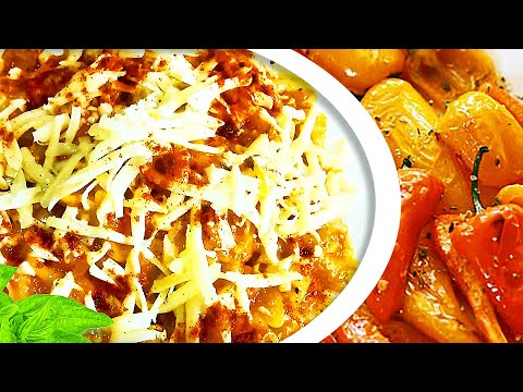 Roasted Pepper Sauce Pasta, An Easy Roasted Pepper Sauce Pasta Recipe To Cook Pasta And Peppers!