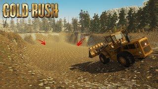 MINEREI TODO O OURO DA MINA, ESTOU RICO! Gold Rush:The Game