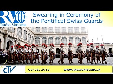 Swearing in Ceremony of the Pontifical Swiss Guards - 2016.05.06
