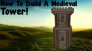 minecraft tower medieval build tutorial