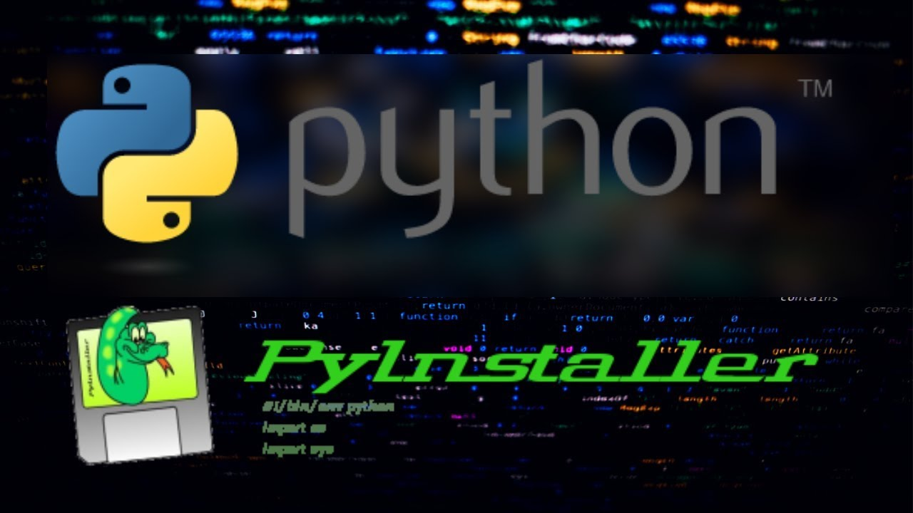 Creating a Stand Alone Executable from a Python Script using PyInstaller