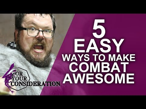 5 Easy Ways To Make Combat Awesome In Your RPG - FYC