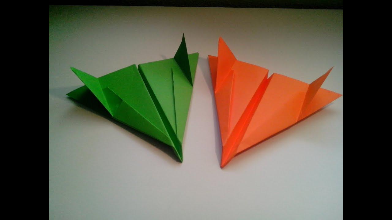 Como hacer un avion de papel bombardero sencillo viyoutube for Como construir piletas de material