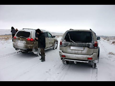 █ Светодиодные ламы габаритов, тест и разборка, Dimensions auto, на Mitsubishi Pajero Sport