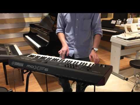 Kuljaesol : Review รีวิว Synthesizer keyboard MOXF6