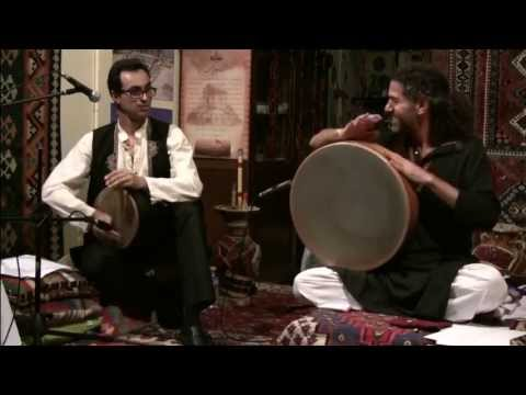 Traditional Persian music in fusion with Indian Classical music – Dúo Aine