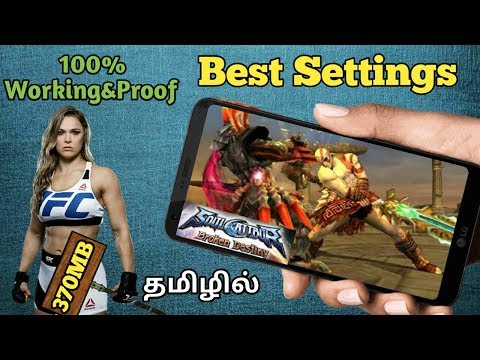 [370MB] How To Download Soul Calibur Broken Destiny For Android||TAMIL