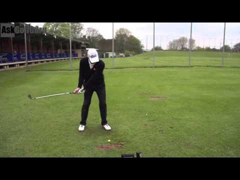 Golf Fundamentals Hit The Golf Ball at Target