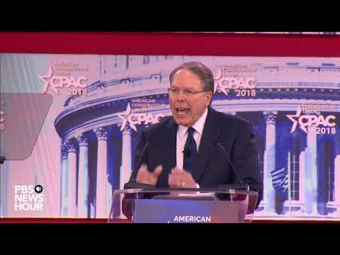 WATCH: NRA's Wayne LaPierre speaks at CPAC
