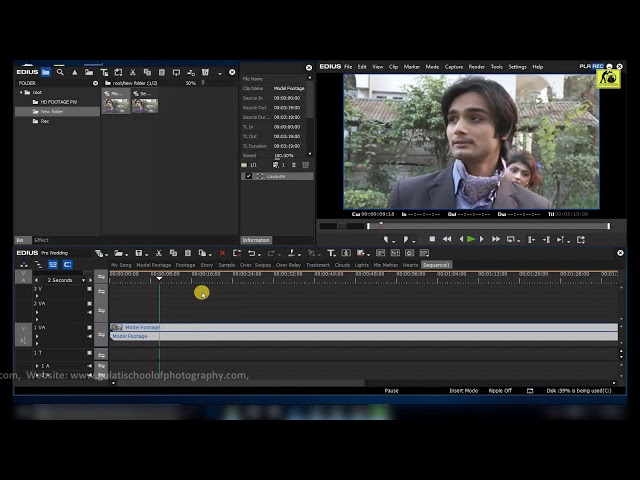 Pre Wedding & Highlights Editing in Edius 7,8 & 9 with Effects (  DVD in Hindi Language )