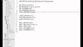 16. MVC. Laravel - конфигурация, миграции, работа с БД