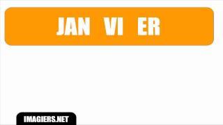 [HD] French pronunciation # JANVIER