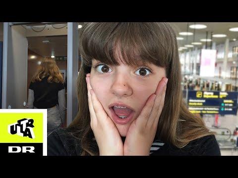 Hedvig skal flyve alene: Bliver stoppet i security! | Tør jeg | Ultra