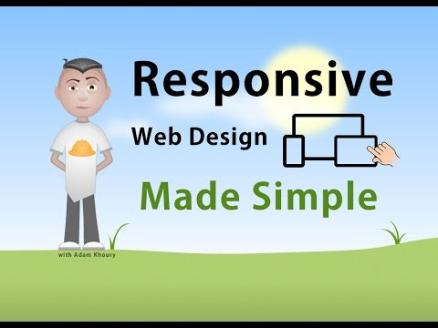 Responsive Web Design Made Simple CSS @media Rule Tutorial