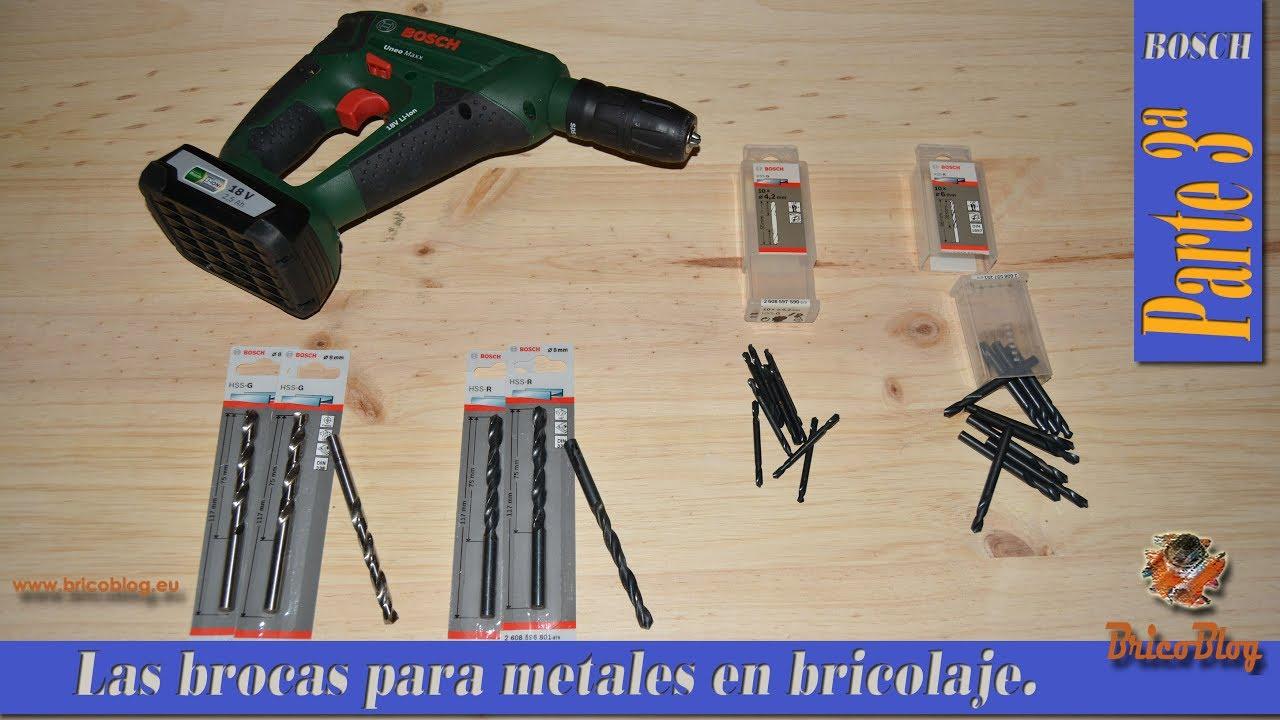 Brocas Para Metales Tipos Y Usos Más Frecuentas En
