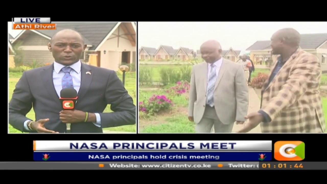 NASA principals hold crisis meeting
