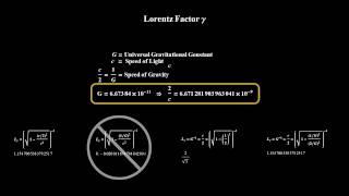 Lorentz Factor & Speed Gravity, Lorentz-Faktor, Ло...