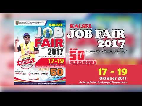 Tinggal 3 Hari Lagi, Kalsel Job Fair 2017 Akan Dilaksanakan di Banjarmasin