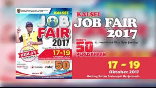 Kalsel Job Fair 2017 Banjarmasin