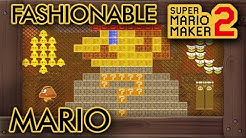 "Super Mario Maker 2 - Amazing ""Fashionable Mario"" Level"