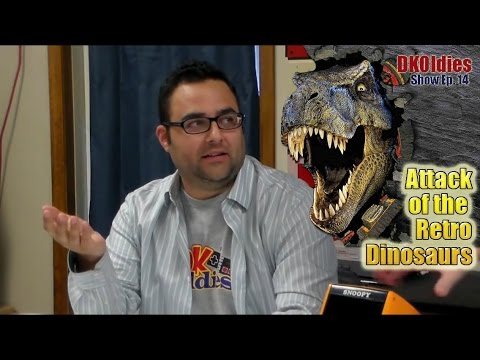 Retro Jurassic Park! DKOldies Podcast Ep  14