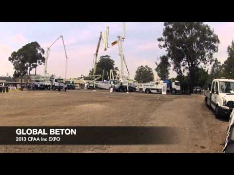 Concrete Pumping Association of Australia Inc. 2013 EXPO