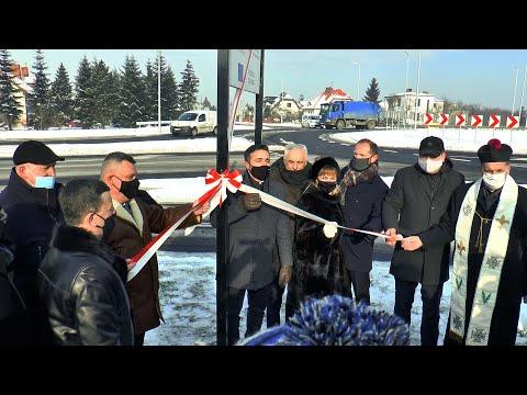 Oficjalne otwarcie rond turbinowych w Białej Podlaskiej. Projekt transgraniczny