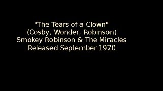 tears of a clown smokey robinson the miracles info