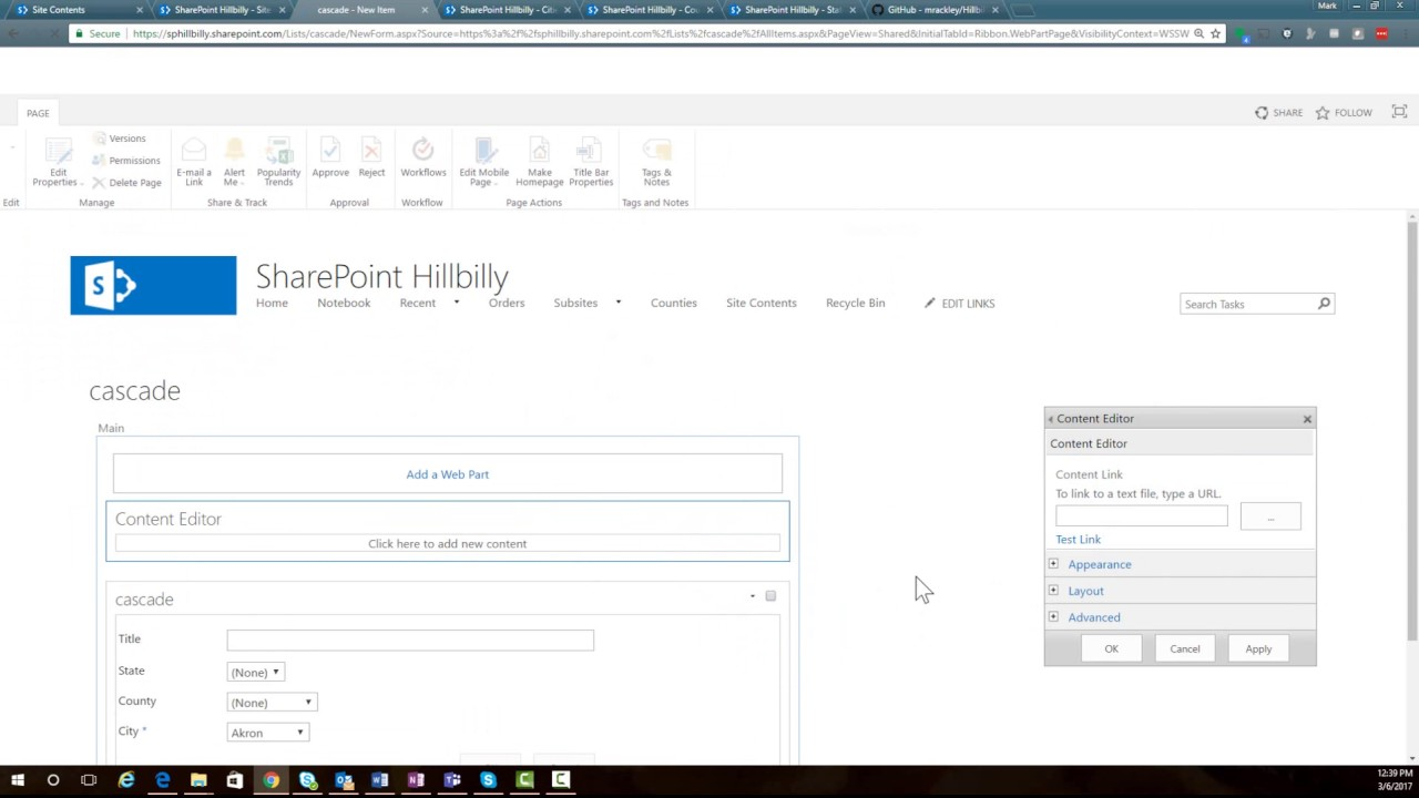 New & Improved Cascading Dropdowns for SharePoint Classic Forms