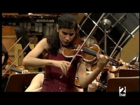 Ana Maria Valderrama plays Prokofiev violin concerto N.1 (1 Mov) Part 2