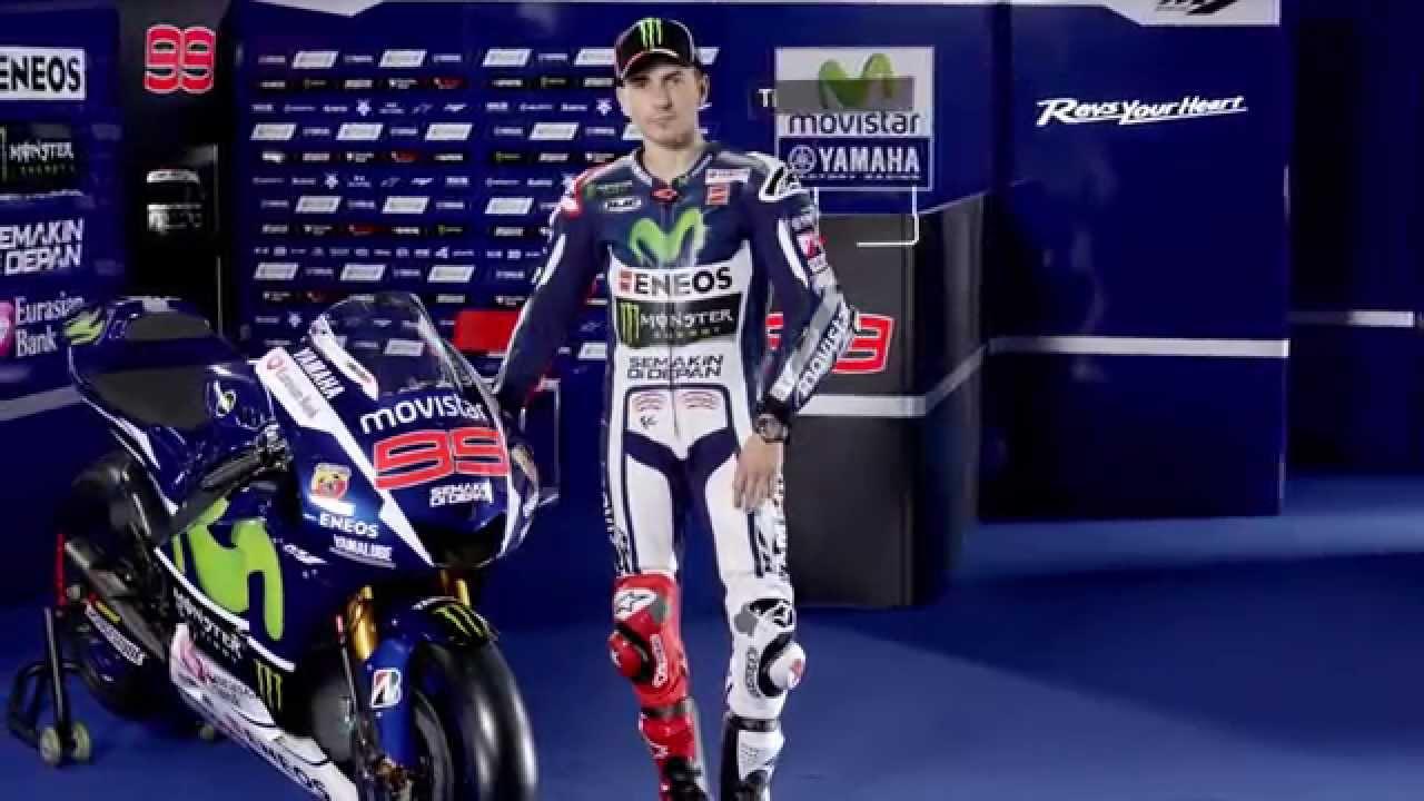 Jorge Lorenzo - Movistar Yamaha MotoGP 2015 - YouTube