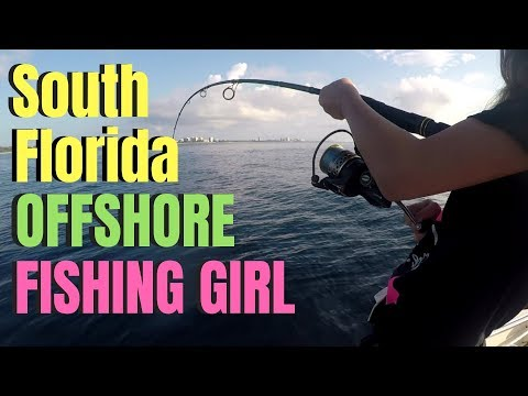South Florida OFFSHORE FISHING GIRL