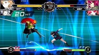 Dengeki Bunko Fighting Climax [JP] | Arcade Mode with Misaka Mikoto + Characters Gallery